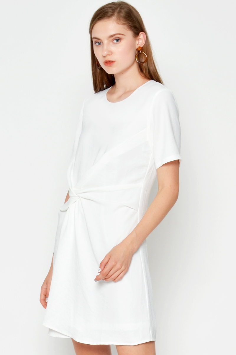 JULEEN TWISTED KNOT DRESS