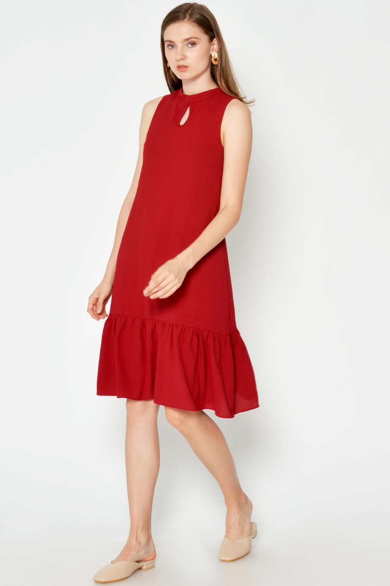 AERIN DROPWAIST DRESS