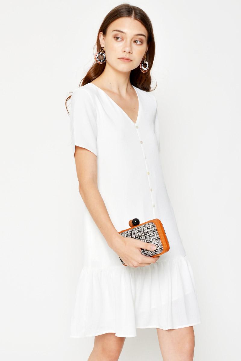 EDENIA DROPWAIST DRESS