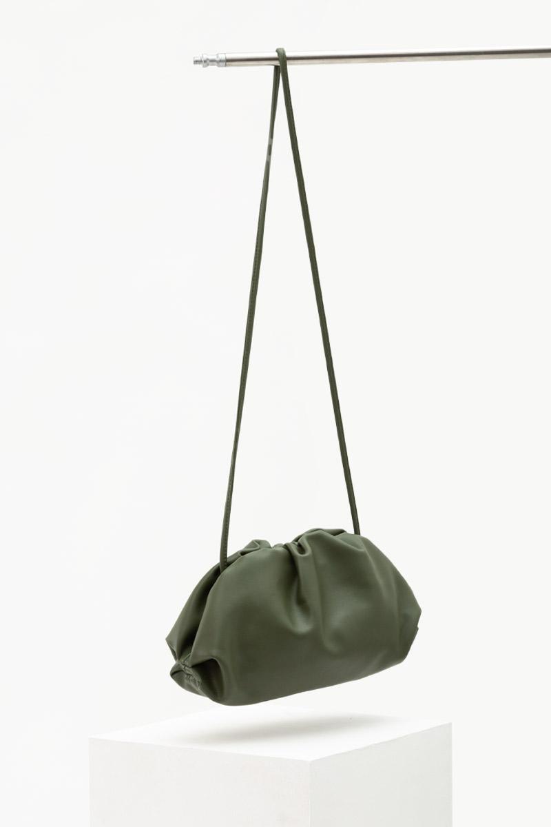 SOFT LEATHER DUMPLING BAG (LARGE)