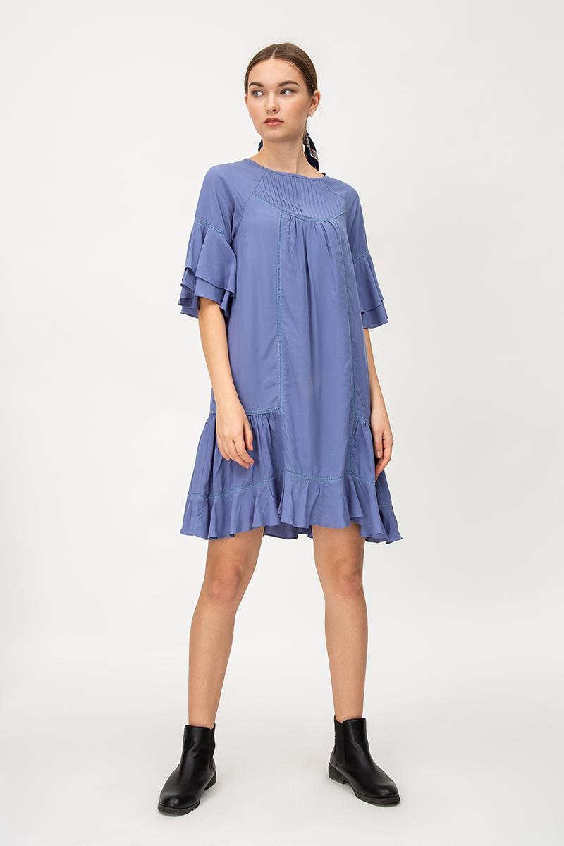SHAYLEE FLOUNCE DRESS