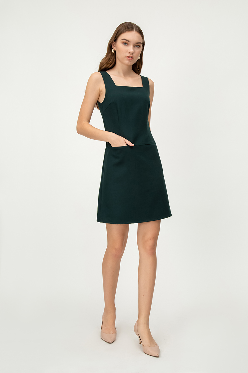 BLAISE FRONT POCKET DRESS