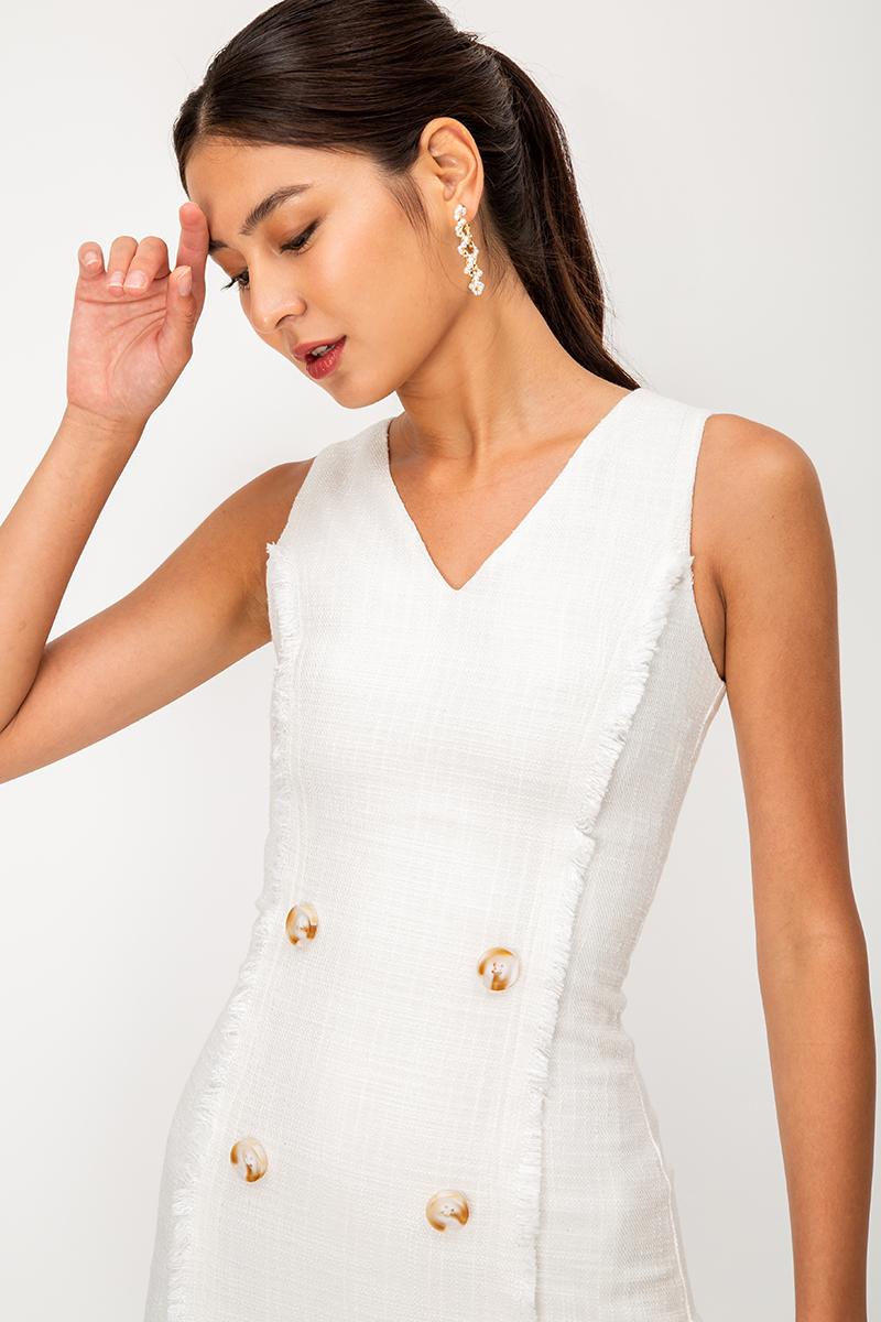 KOJA TWEED SHEATH DRESS