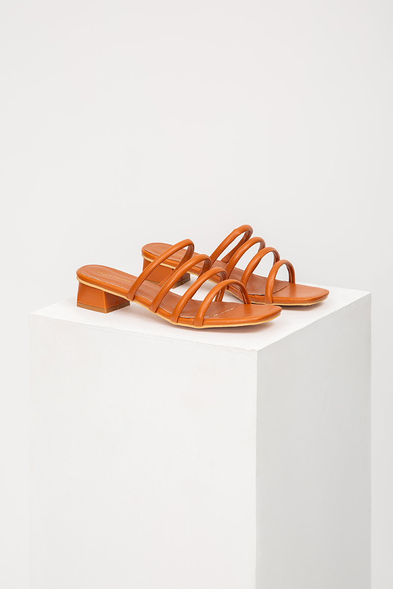 JOVIE STRAPPY HEELED SANDALS