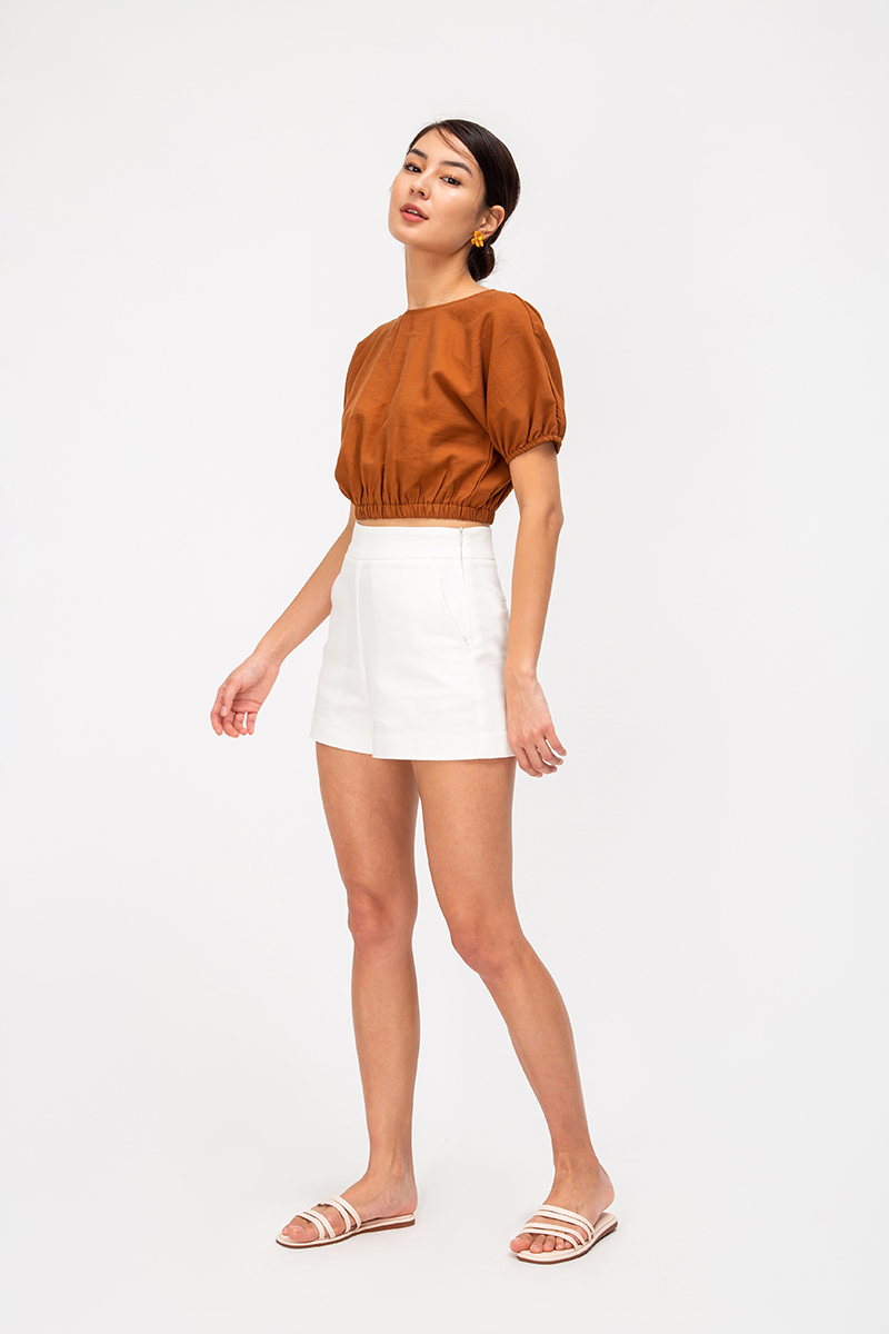 *BACKORDER* EMLYN PUFF SLEEVE TOP