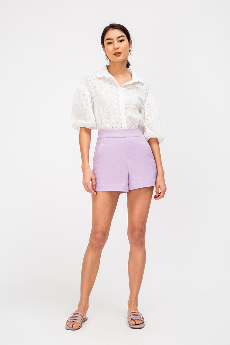 *BACKORDER 4* LEIA BASIC HIGHWAIST SHORTS