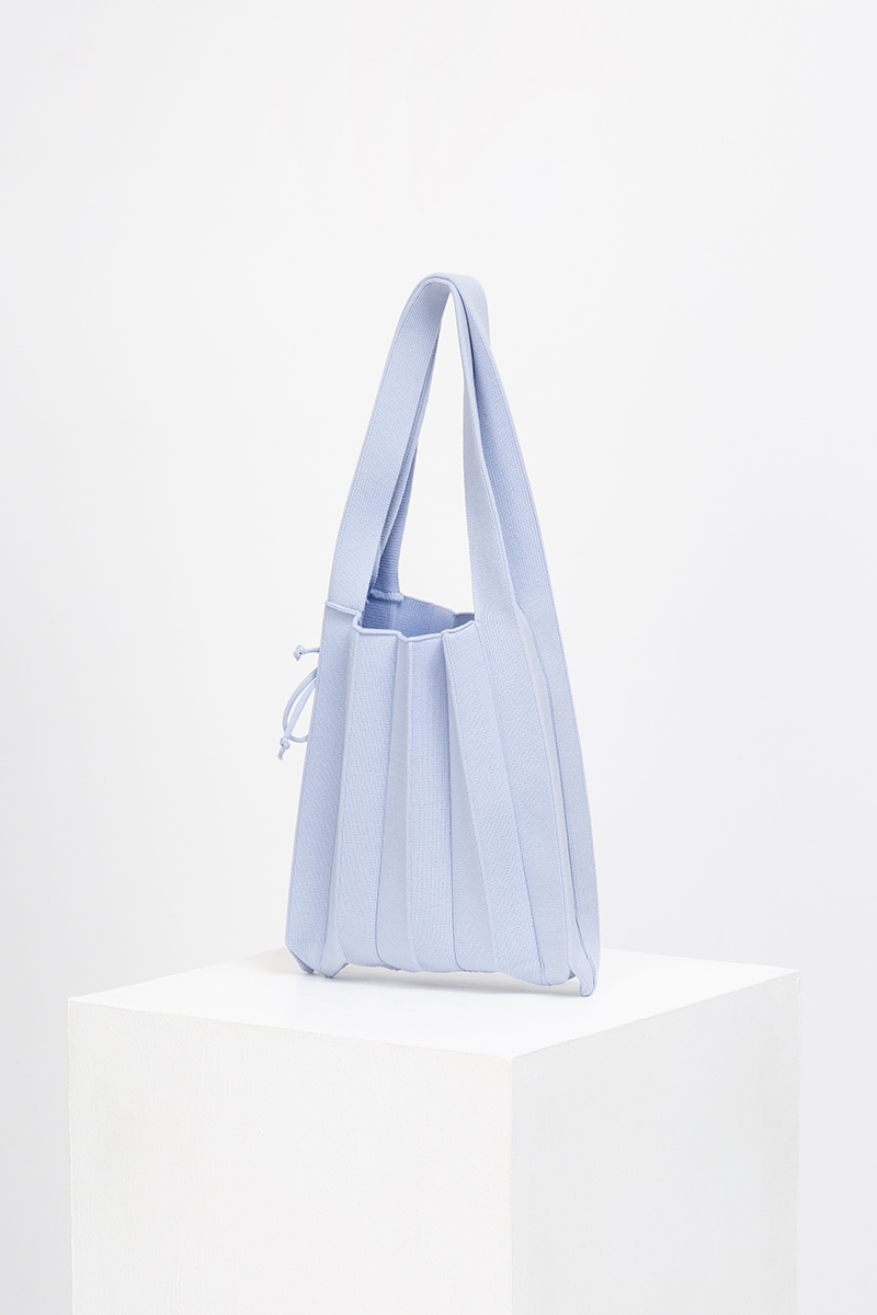 CALLA MINI PLEATED KNIT BAG