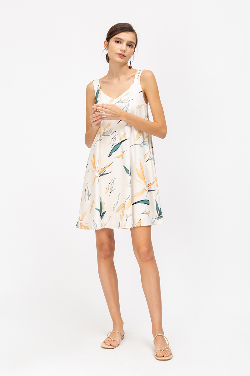 *BACKORDER* BARRY BOTANICAL PRINT TENT DRESS
